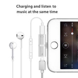 50% OFF - ( BUY 2 SAVE $4 & FREE SHIPPING) - 2PCS! 4 in 1 Earphone Lightning Adapter for iPhone