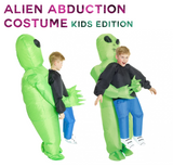 BELLE'S Alien Abduction Costume