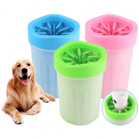 Dog Paw Cleaner Cup Soft Portable Feet Washer