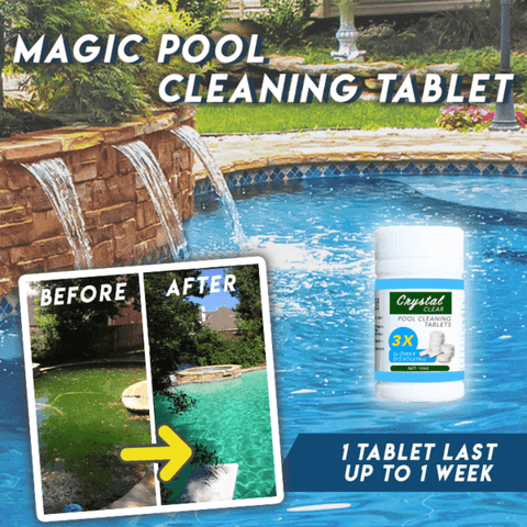 Magic Pool Cleaning Tablet (100 PCS)