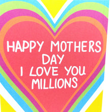Load image into Gallery viewer, I Love You Millions Mothers Day Card
