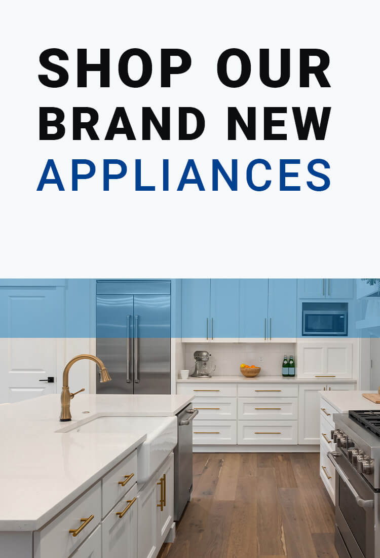 Appliances in a kitchen from an Edmonton appliance services company