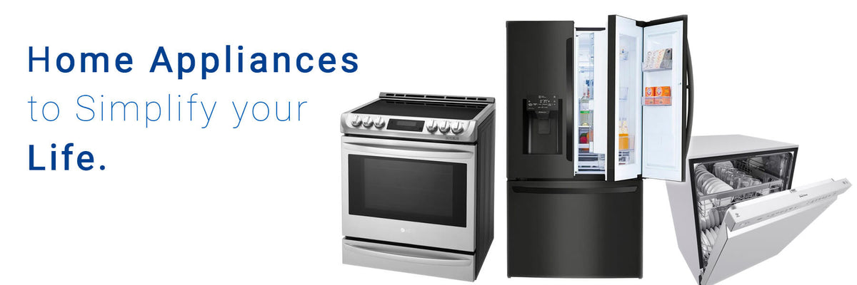 Home appliances from an Edmonton appliance services company