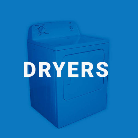 Used dryers from an Edmonton appliance services company