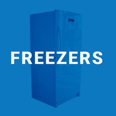 Used freezers from an Edmonton appliance services company