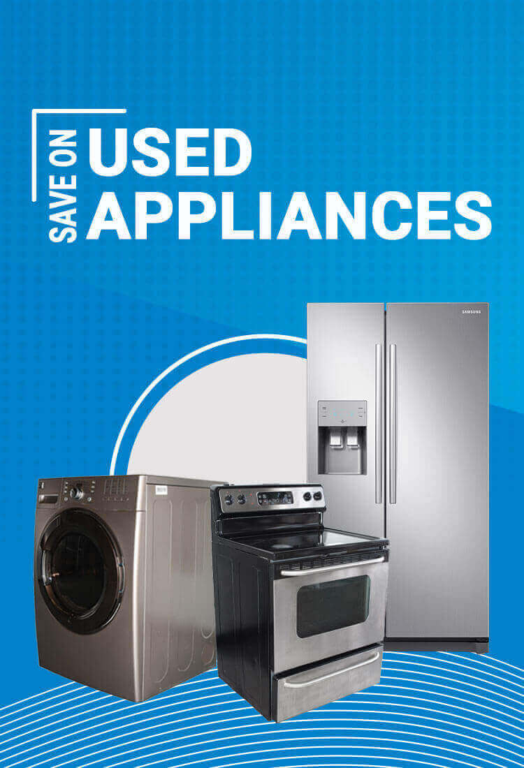Used kitchen appliances from an Edmonton appliance services company