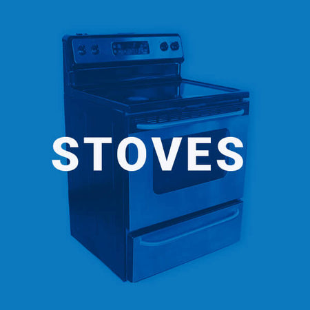 Used stoves from an Edmonton appliance services company