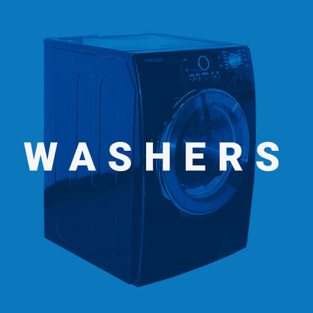 Used washers from an Edmonton appliance services company