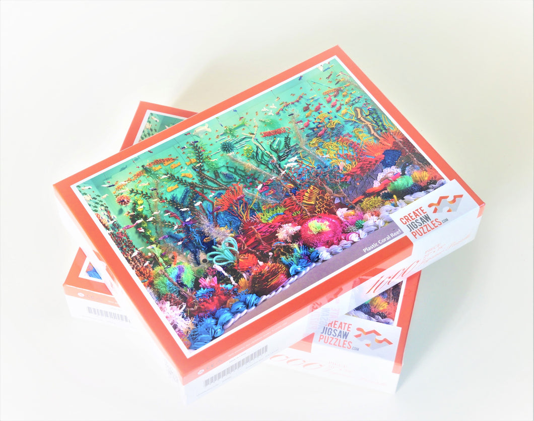 Federico Uribe: Plastic Coral Reef Jigsaw Puzzle