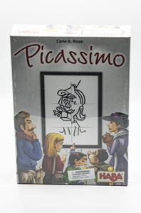 Picassimo Game-A Crazy Award Winning Jigsaw Drawing Game