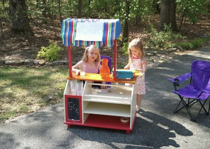Claire and Anna's Lemonade Stand