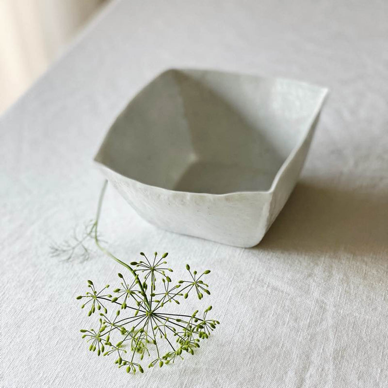 Square Bowl by Park Songkuk