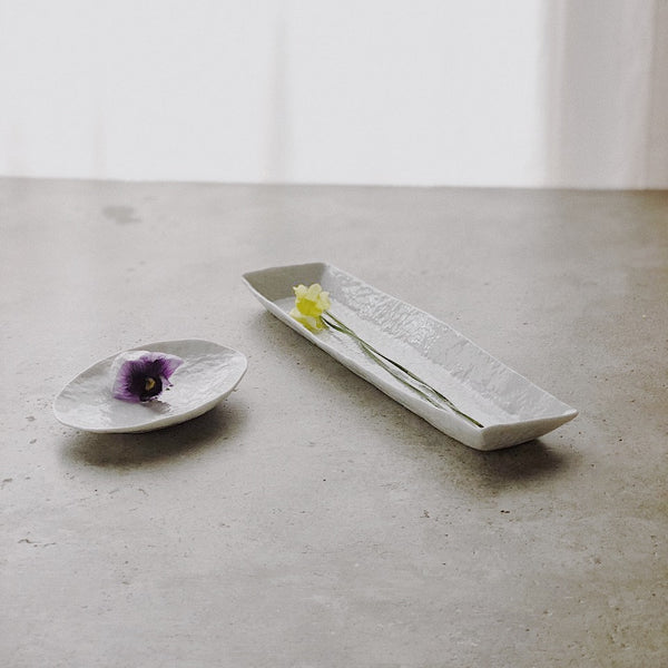 Long Rectangular Dish no.1 by PARK Songkuk - Stroll