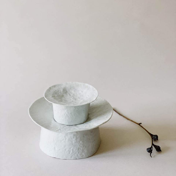 High Plate (small) (굽접시) by PARK Songkuk - Stroll