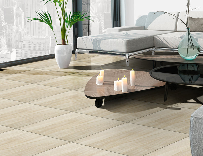 Piso Eco Wood Beige 56x56