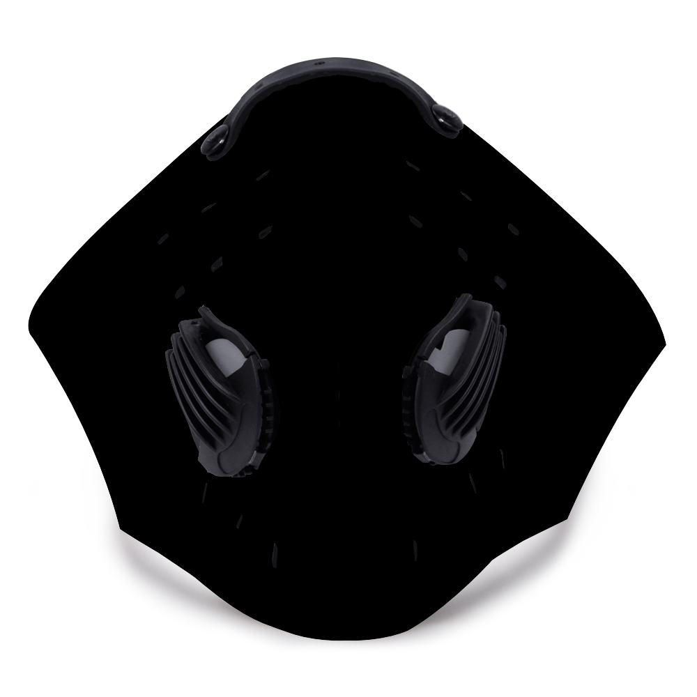 BLACK TRAVEL MASK with FILTERS