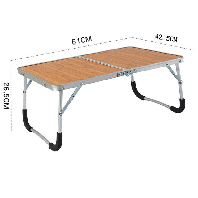 BAMBOO ALLOY FOLDABLE PICNIC TABLE