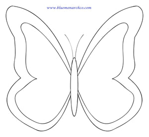 Butterfly Coloring Page 12