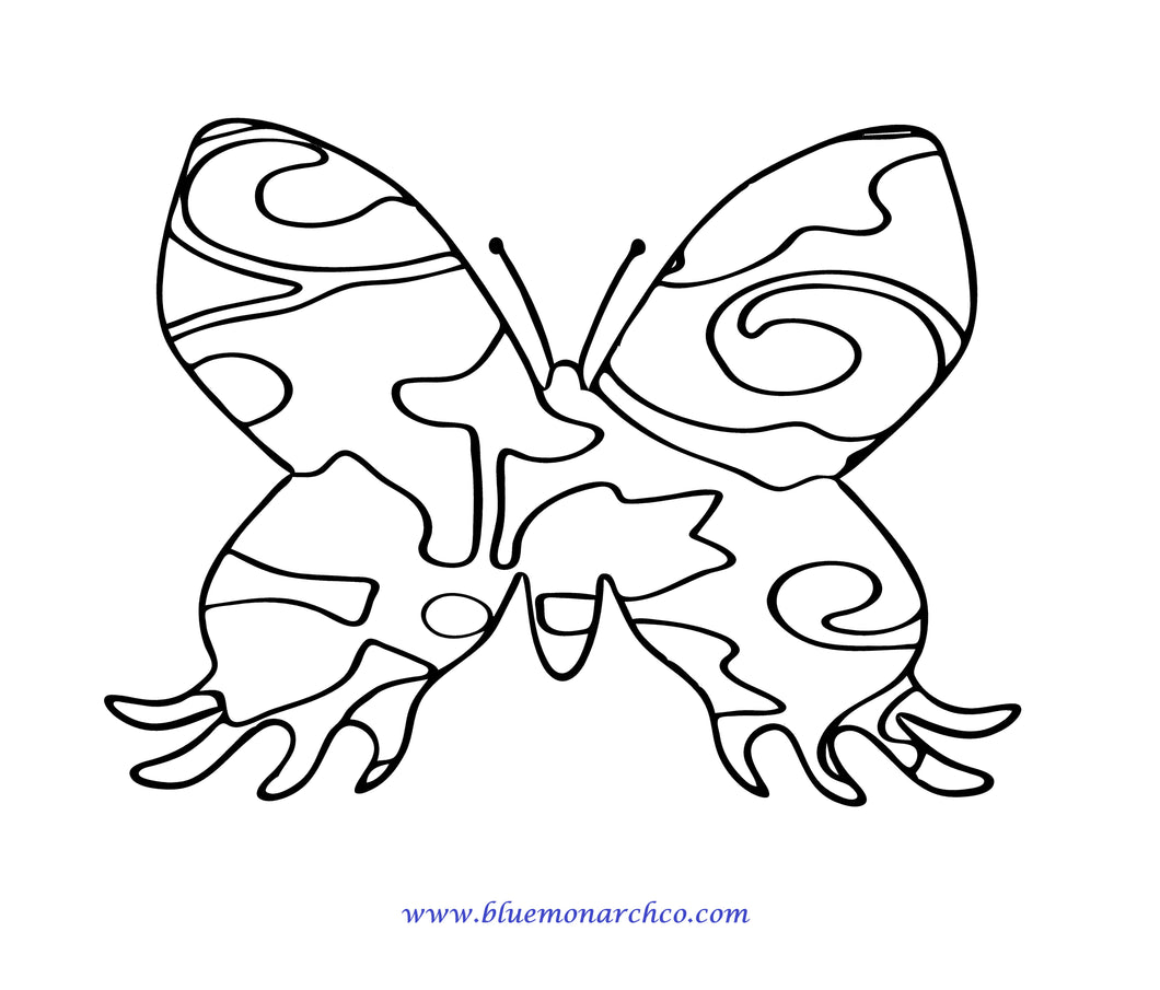 Butterfly Coloring Page 15