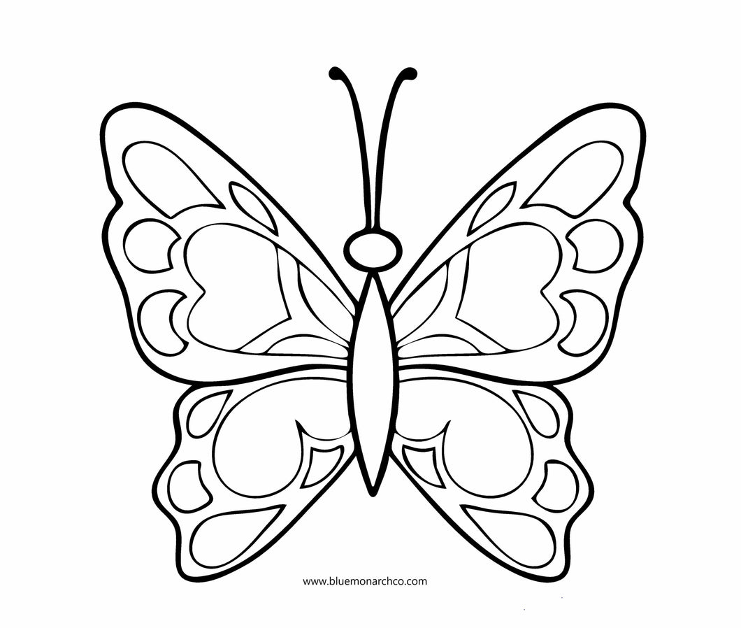 Butterfly Coloring Page 8