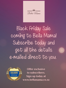 Black Friday coming to Bella Mama! 🎉🎊🥳