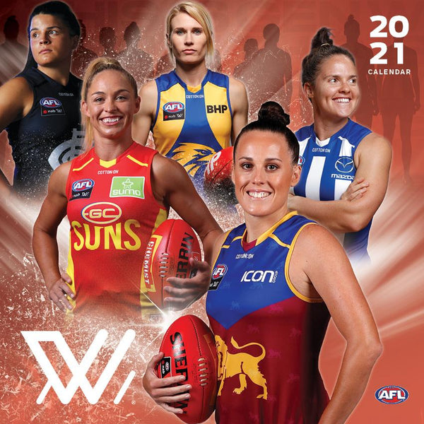 Paper Pocket - AFL Womens 2021 Calendar