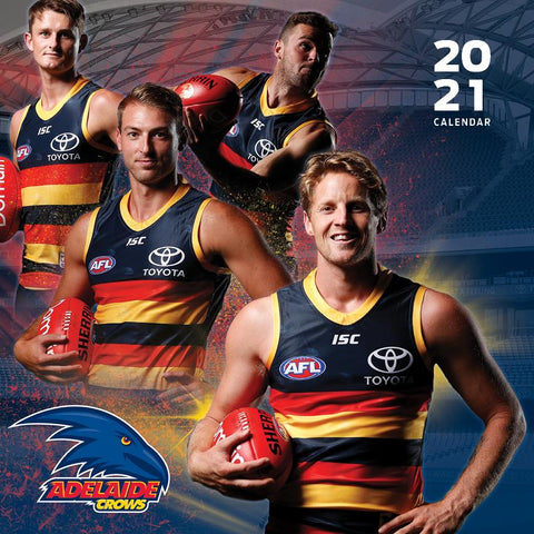 Paper Pocket - AFL Adelaide Crows 2021 Calendar