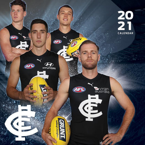 Paper Pocket - AFL Carlton Blues 2021 Calendar