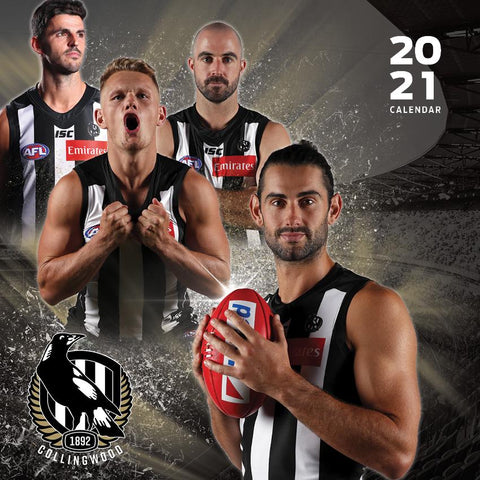 Paper Pocket - AFL Collingwood Magpies 2021 Calendar