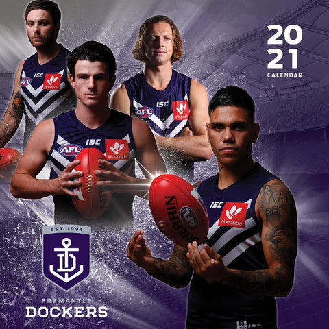 Paper Pocket - AFL Fremantle Dockers 2021 Calendar