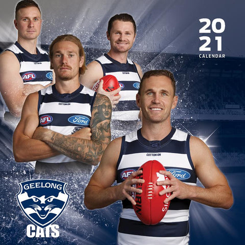 Paper Pocket - AFL Geelong Cats 2021 Calendar