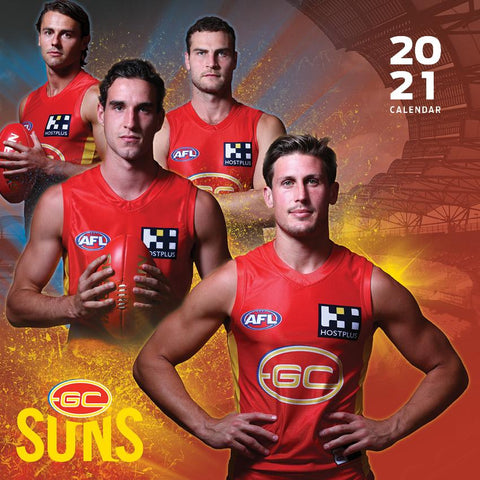Paper Pocket - AFL Gold Coast Suns 2021 Calendar