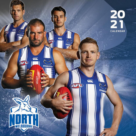 Paper Pocket - AFL North Melbourne Kangaroos 2021 Calendar