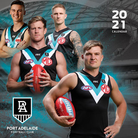 Paper Pocket - AFL Port Adelaide Power 2021 Calendar
