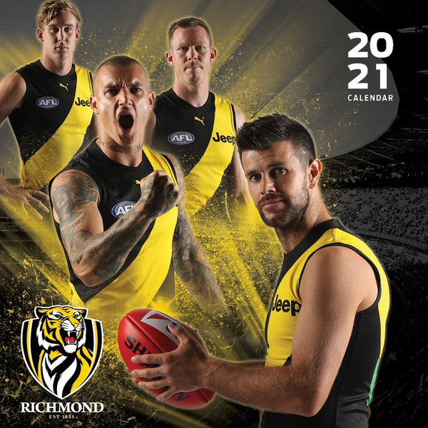 Paper Pocket - AFL Richmond Tigers 2021 Calendar