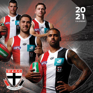 Paper Pocket - AFL St Kilda Saints 2021 Calendar