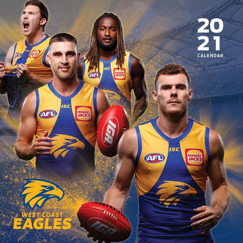 Paper Pocket - AFL West Coast Eagles 2021 Calendar