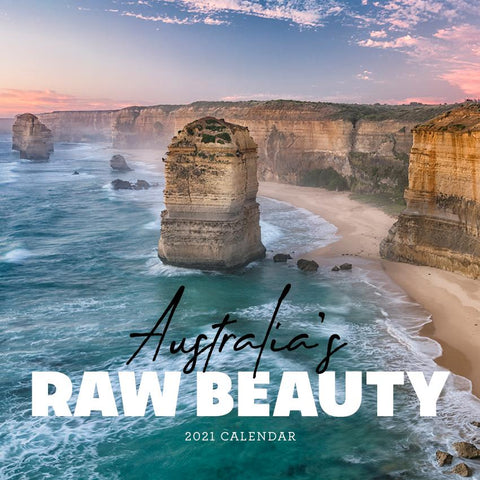 Paper Pocket - Australia's Raw Beauty 2021 Calendar