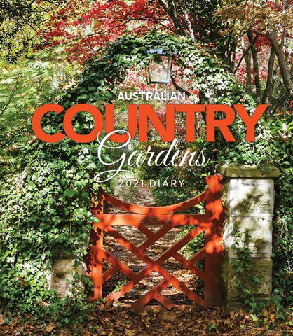 Paper Pocket - Australian Country Gardens 2021 Diary