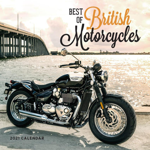 Paper Pocket - Best of British Motorcycles 2021 Calendar