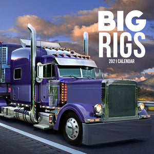 Paper Pocket - Big Rigs  2021 Calendar