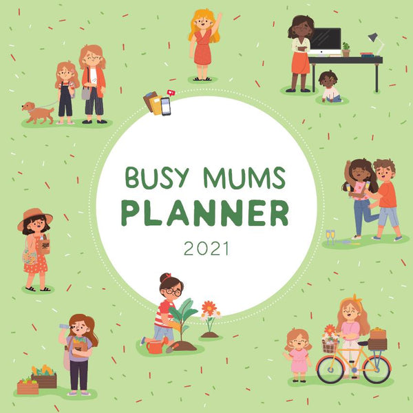 Paper Pocket - 2021 Busy Mum's Planner