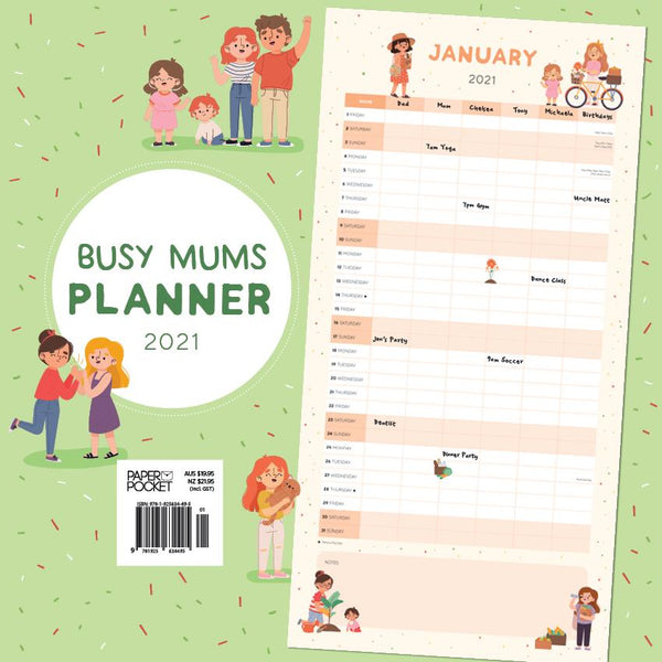 2021 Busy Mum's Planner