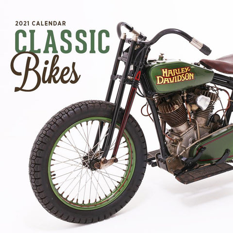 Paper Pocket - Classic Bike 2021 Calendar