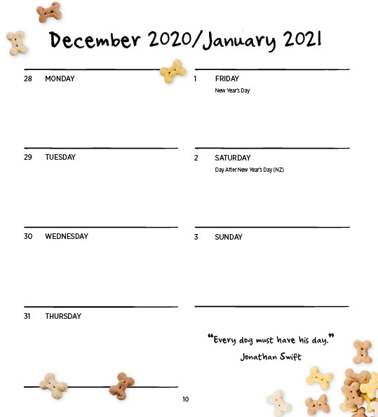 Dogs Life 2021 Diary