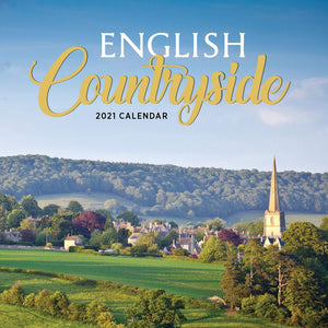 Paper Pocket - English Countryside 2021 Calendar