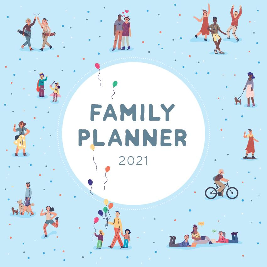 Paper Pocket - 2021 Family Planner