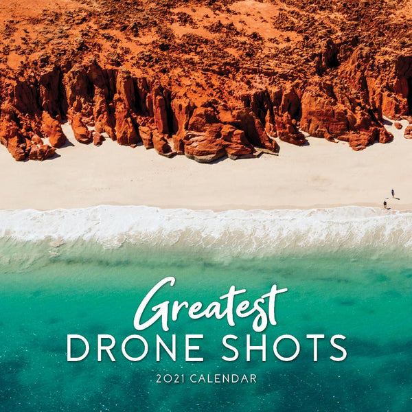 Paper Pocket - Greatest Drone Shots  2021 Calendar