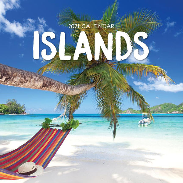 Paper Pocket - International Islands 2021 Calendar