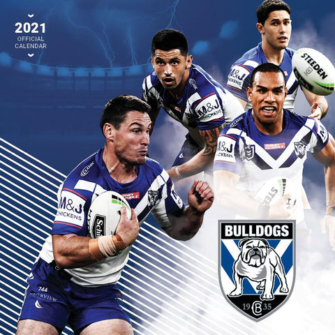 Paper Pocket - NRL Canterbury- Bankstown Bulldogs 2021 Calendar